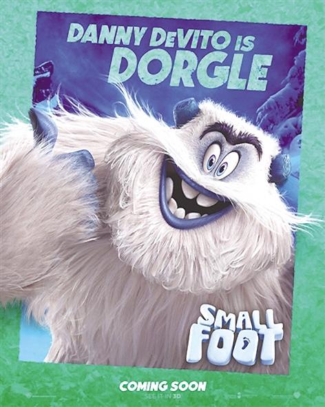 """在雪怪眼里,人类是""""会脱皮,有独角""""的小脚怪,所谓的""""皮""""是羽绒服,""""角"""""""