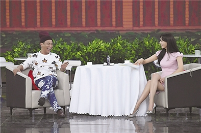 宋小宝与林志玲搭档出演小品挑战『方言』图片